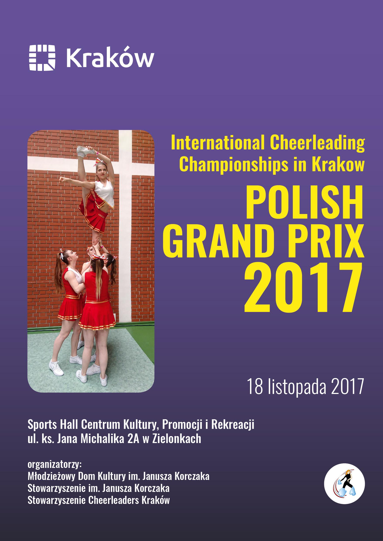 International Cheerleading Championships  in Krakow @ Sports hall Centrum Kultury, Promocji i Rekreacji (Zielonki, Poland) | Zielonki | małopolskie | Poland