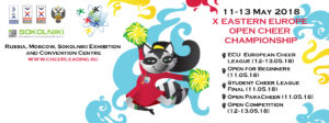 X Eastern Europe Open Cheer Championship @ Sokolniki Exhibition and Convention Centre