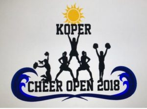 Koper Cheer Open 2018 @ Arena Bonifika