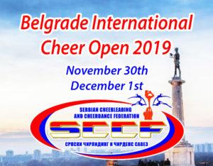 Belgrade International Cheer Open @ Sports Center Master | Beograd | Serbia