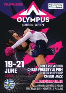 OLYMPUS CHEER OPEN (EUROPEAN OPEN & ECL CHEER LEAGUE) @ Taekwondo & Handball Olympic Stadium | Palaio Faliro | Greece